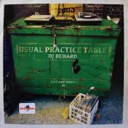 DJ BEHARD / Usual Prastic Table 01