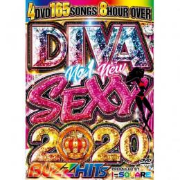 I-SQUARE / DIVA NO.1 NEW SEXY 2020 BUZZ HITS (4DVD)
