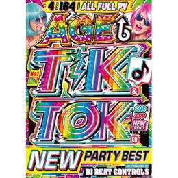 DJ Beat Controls / Age Tik & Toker New Party Best (4DVD)