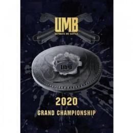 ULTIMATE MC BATTLE GRAND CHAMPION SHIP 2020 (UMB 2020) (3DVD)