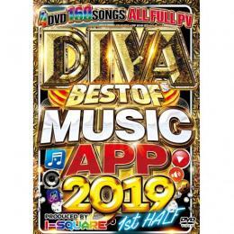 I-SQUARE / DIVA BEST OF MUSIC APP 2019 1st HALF (4DVD)