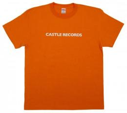 "CASTLE-RECORDS T-shirts ""11th"" (ORANGE x WHITE)"
