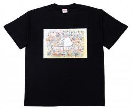 "【CP対象】 CASTLE-RECORDS T-shirts ""Commemorative photo"""
