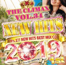 DJ SONIC / THE CLIMAX 34 -NEW HITS 2019 1st-