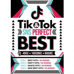 V.A / TIK & TOK -SNS PERFECT BEST- 4DISC 160SONGS (4DVD)