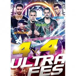V.A / 4×4 ULTRA FES -4×ARTIST BEST MUSIC VIDEO SELECT DVD-