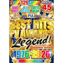 the CR3ATORS / Best Hits PV Awards Legend (3DVD)