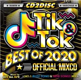 AV8 ALL DJ'S / TIK&TOK -BEST OF 2020- OFFICIAL MIXCD (2CD)