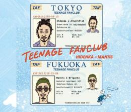 HIDENKA × MANTIS / TEENAGE FANCLUB