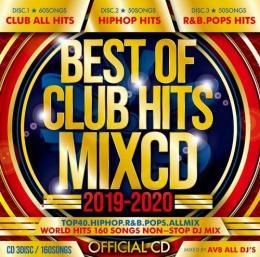 AV8 ALL DJ'S / BEST OF CLUB HITS 2019-2020 OFFICIAL MIXCD (3CD)