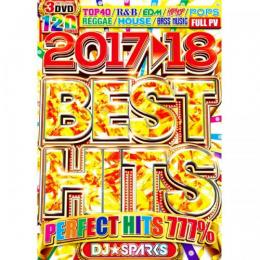 DJ★Sparks / Best Hits 2017-2018 (3DVD)