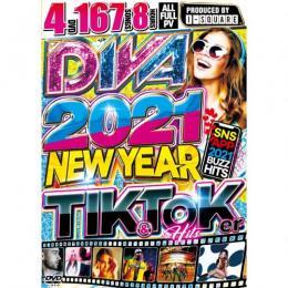 I-SQUARE / DIVA 2021 -NEW YEAR Tik & Toker HITs- (4DVD)