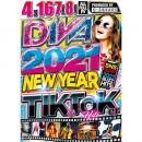 I-SQUARE / DIVA 2021 -NEW YEAR Tik & Toker HITs- (4DVD)