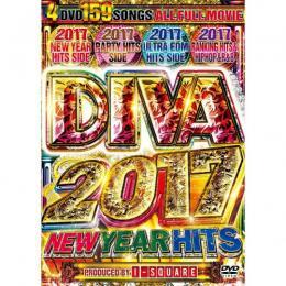 I-SQUARE / DIVA 2017 NEW YEAR HITS (4DVD)