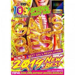 DJ★Sparks / GAL'S BEST 2019 NEW BEST (3DVD)