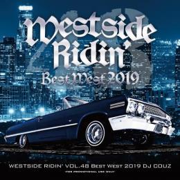 DJ COUZ / Westside Ridin' Vol.48 -Best West 2019-